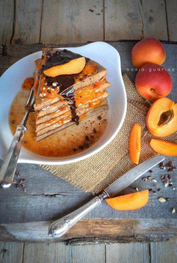 Choco Apricot Pancake
