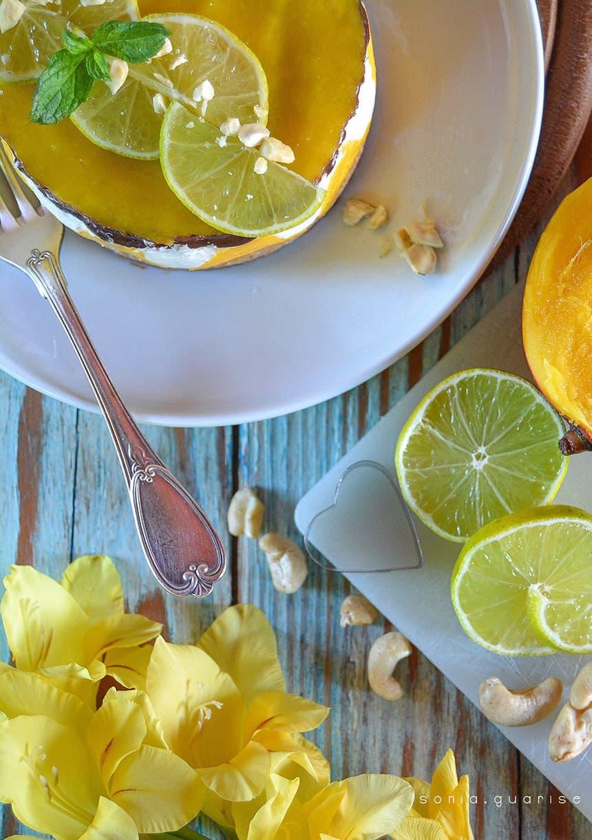 cheesecake mango-lime