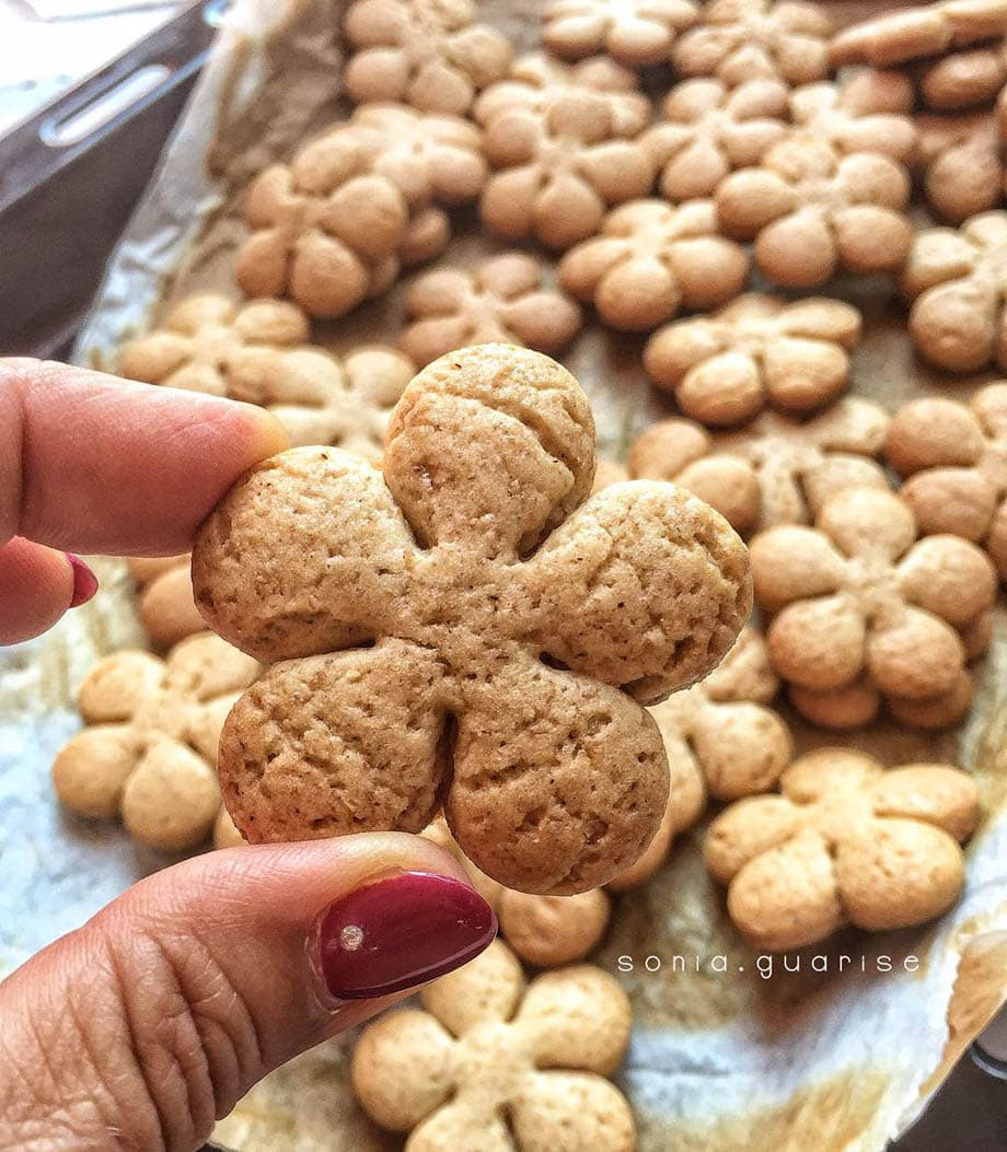 biscotti frolla fiore