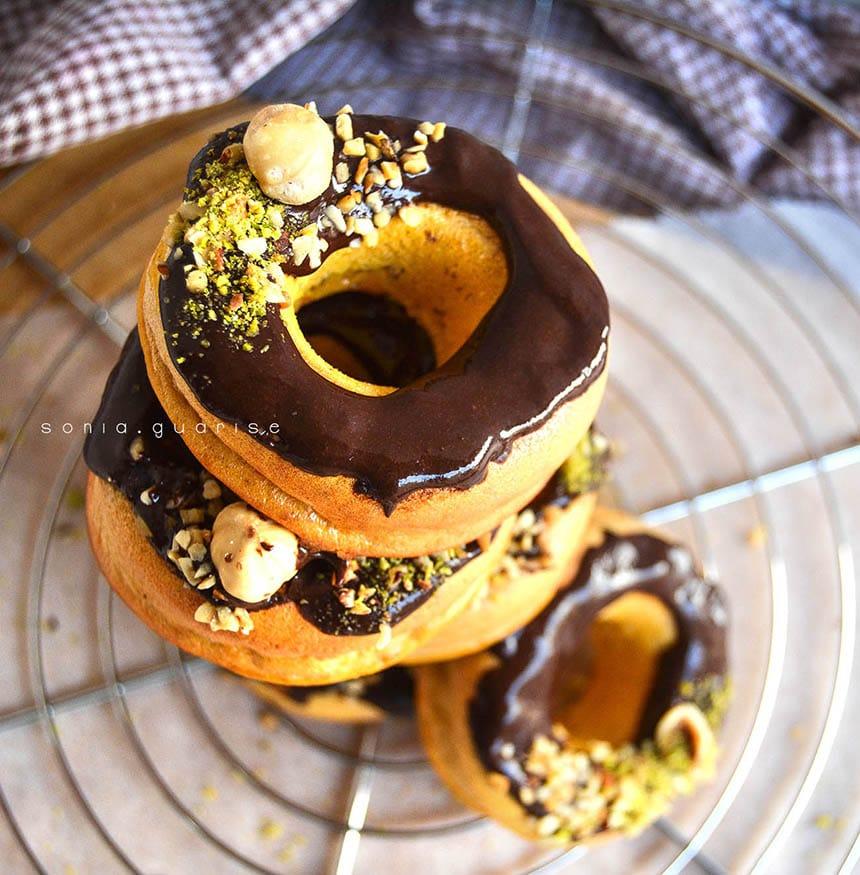 Donuts alla zucca