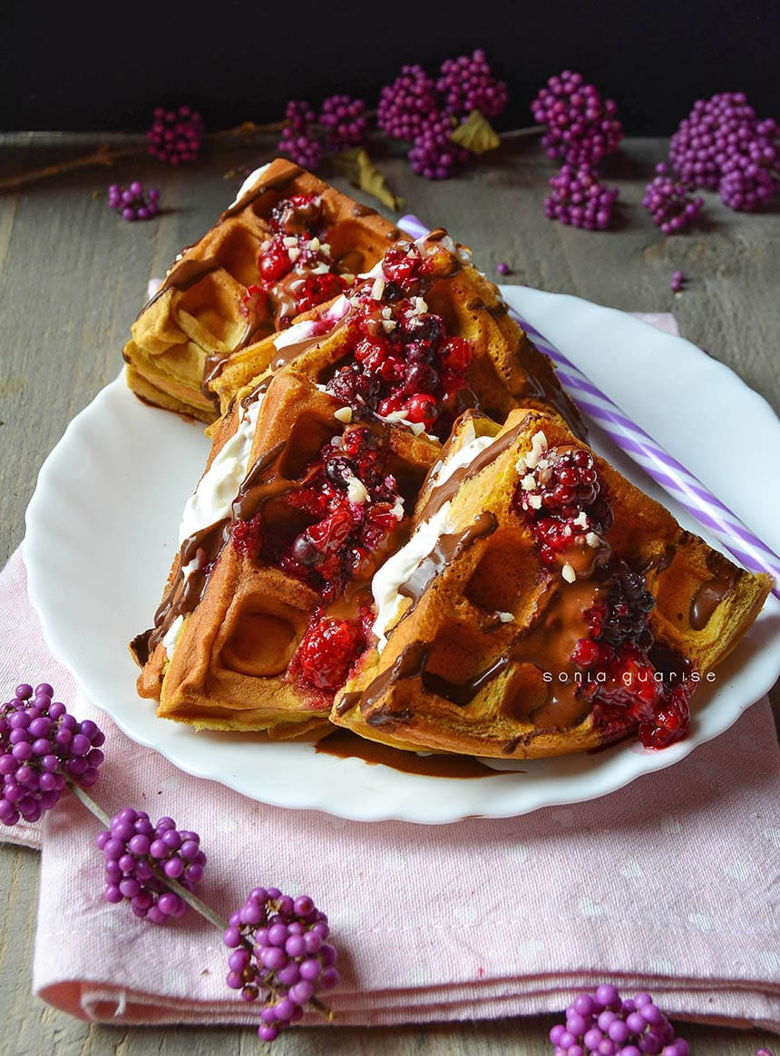 fit waffle cleanfoods