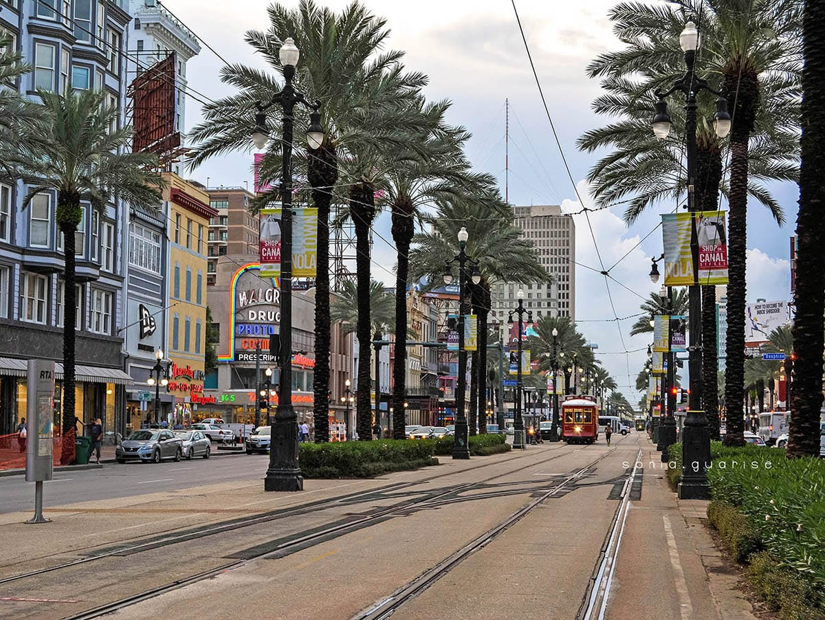 tram a new orleans