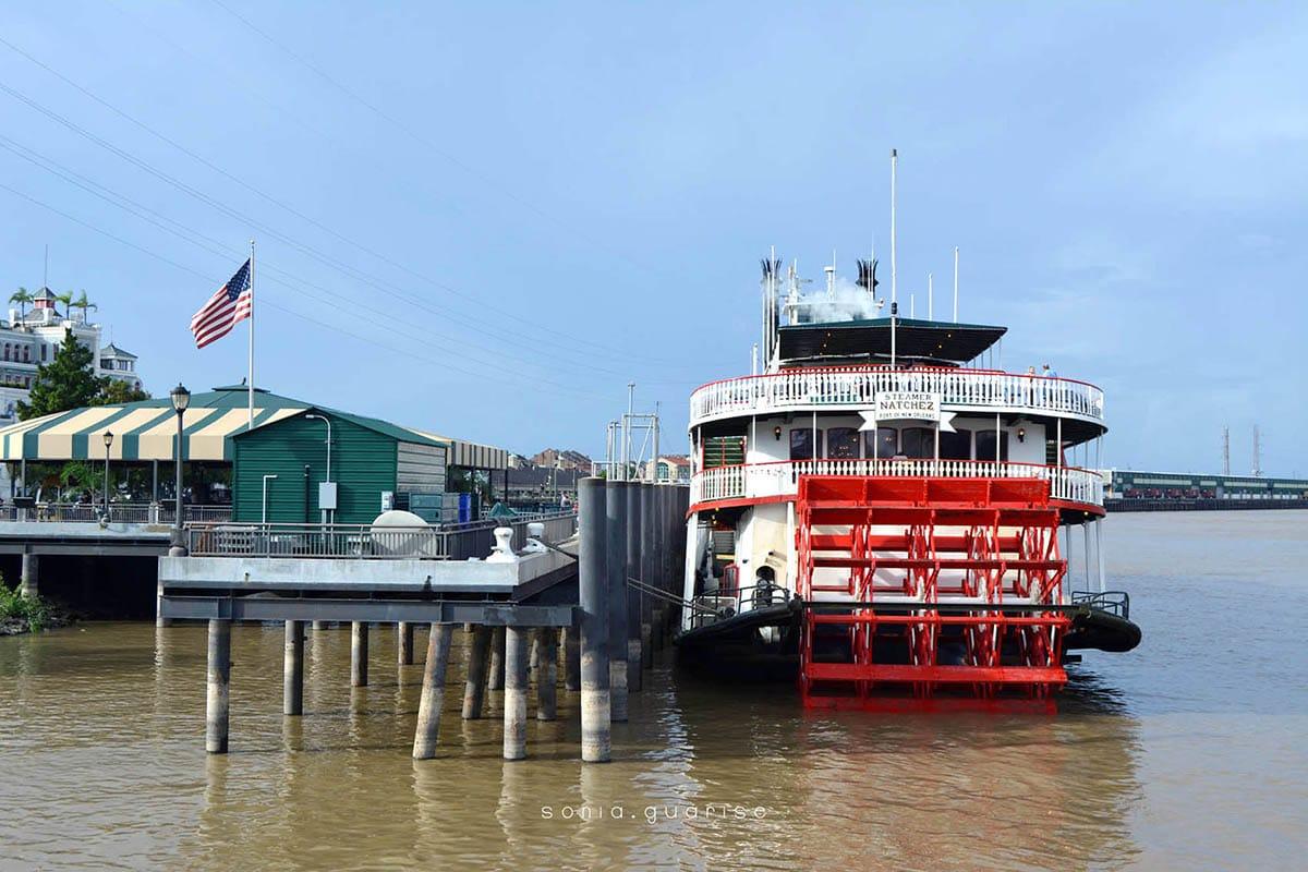 battello Steamboat Natchez, New Orleans