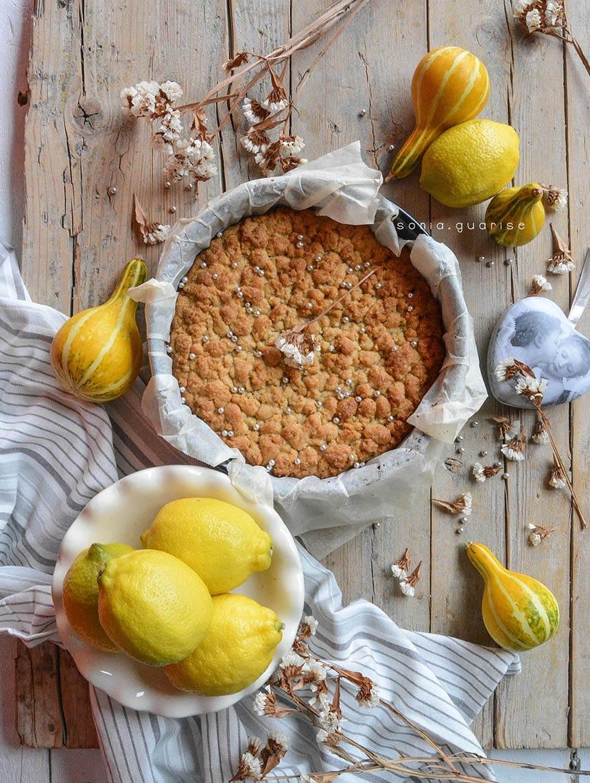 Sbricciolata al limone