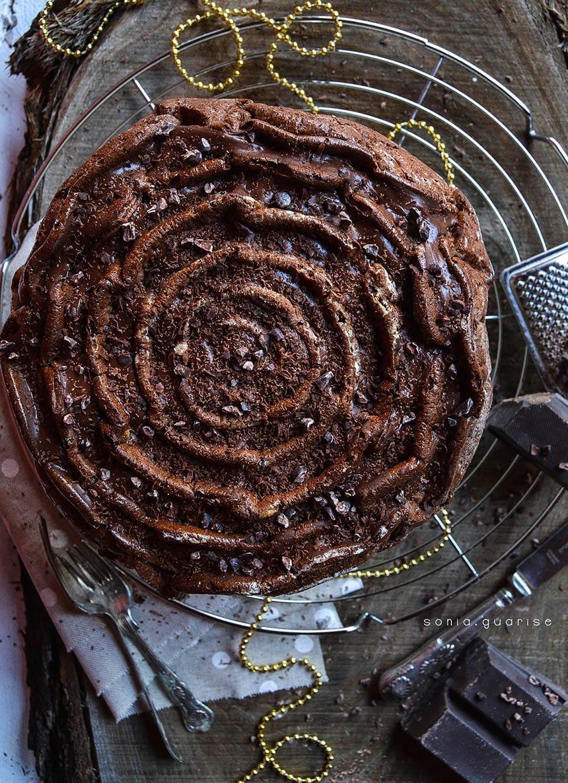 Torta spirale cioccolato caffè