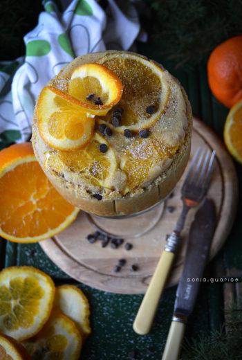 Tortina rovesciata all'arancia