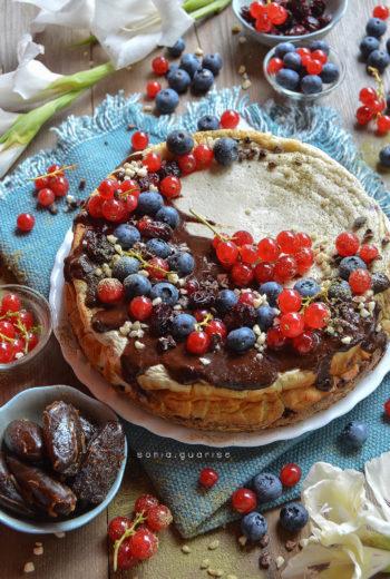 Matcha Cheesecake ai Frutti di Bosco