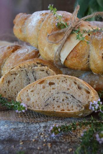 Pane Torchon ai semi di sesamo e di papavero