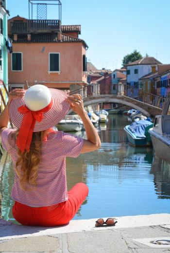 Burano, l'arcobaleno del Veneto
