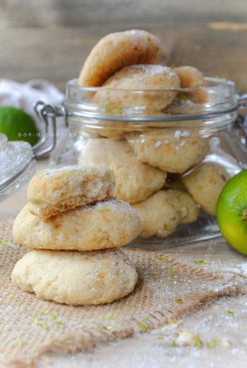 Biscottini felici al lime