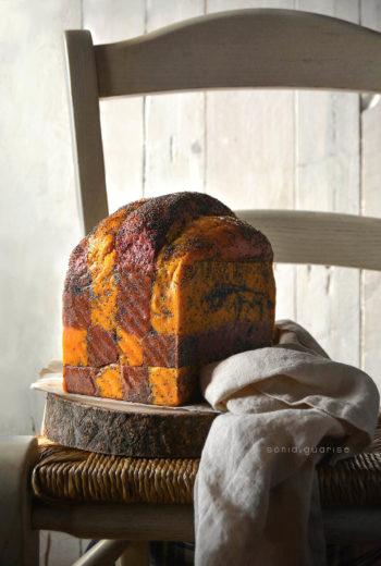 Panbauletto carota e barbabietola con licoli